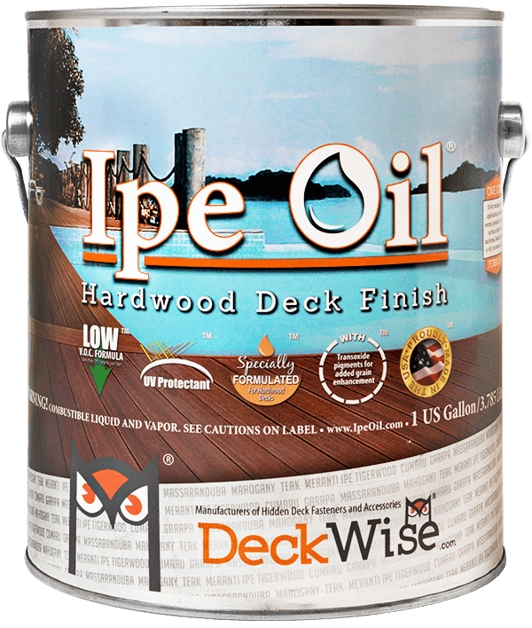 Exotic Ipe Oil Hardwood Finish Uv