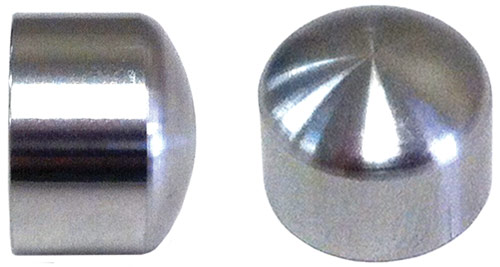 stainless-steel caps