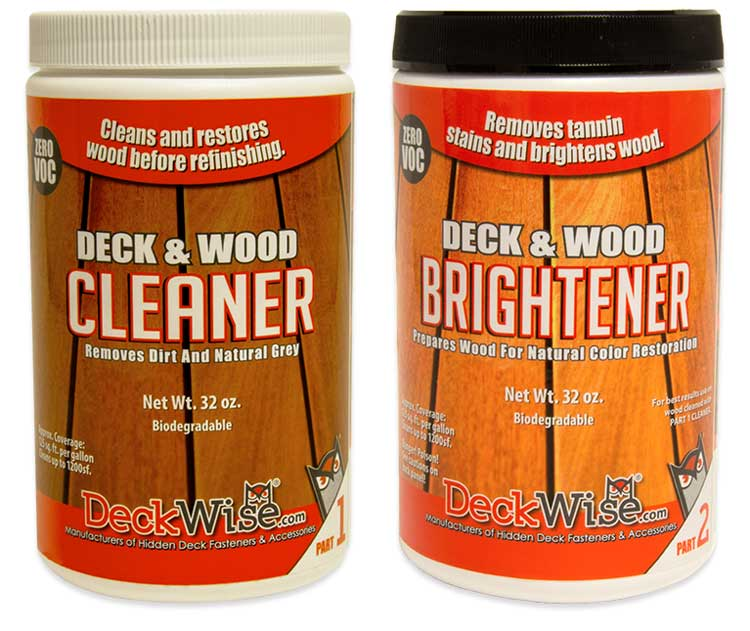 Hardwood Cleaner and Brightener