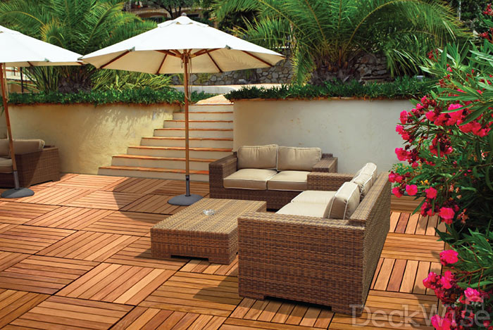 Why Choose Wisetile Deck Tiles Deckwise Decking