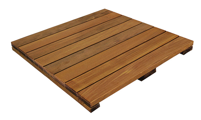 Ipe Hardwood Deck Tiles In 24x24 Tile Squares | DeckWise