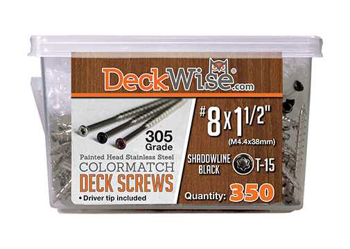 Stainless Steel Decking Screws 350 Count