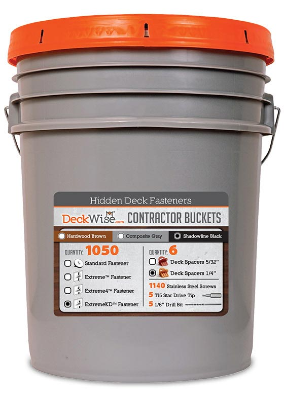 DeckWise 5 Gallon Bucket