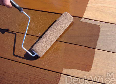 Lying Ipe Oil Hardwood Deck Finish