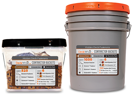 deckwise contractor buckets