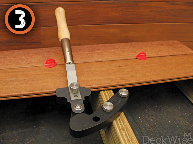 Deck Board Straightener Hardwood Wrench Tool