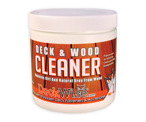 Deckwise Hardwood Deck Brightener and Cleaner