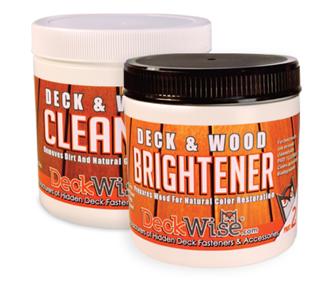deckwise hardwood cleaner and brightener