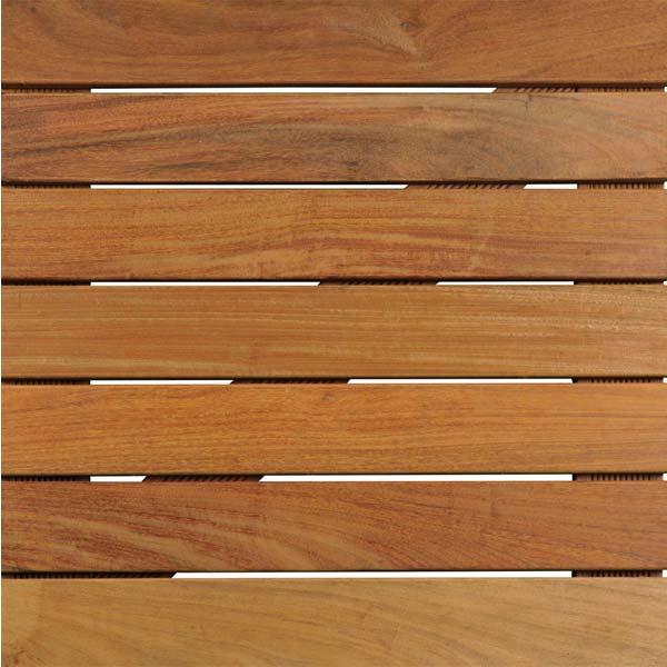 Deck tile connectors tile fastener system hardwood deck for Non wood decking boards