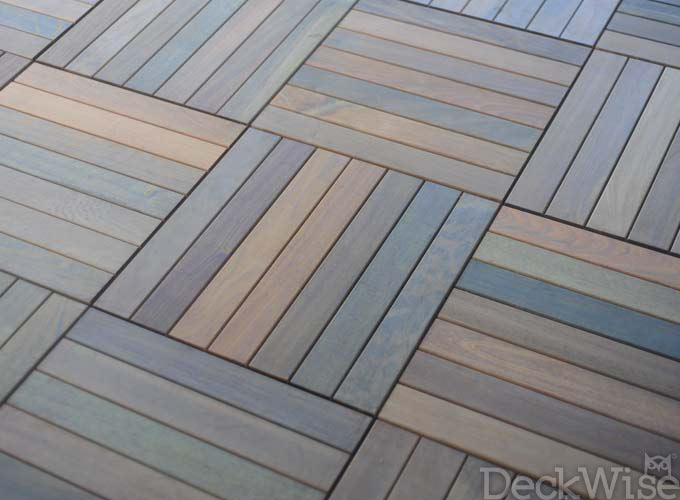 installing deck tiles from deckwise