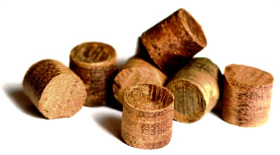 Hardwood Plugs manufactured by DeckWise