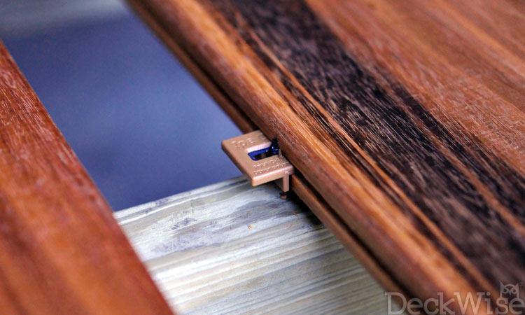 Plastic Trim Molding >> Ipe Clip Hidden Deck Fastener Edge Mount Clips   DeckWise