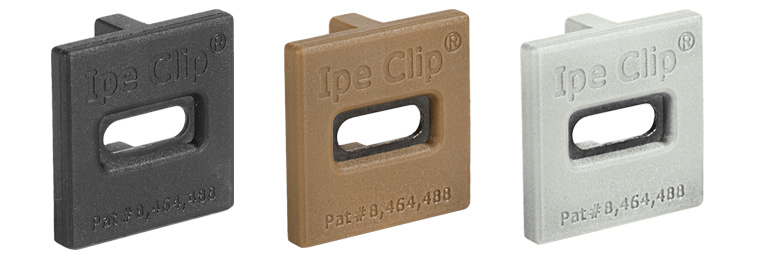 Ipe Clip Hidden Deck Fasteners from DeckWise