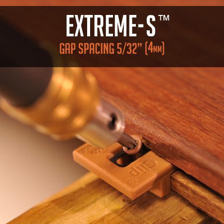 Ipe Clip® Extreme4® gap spacing