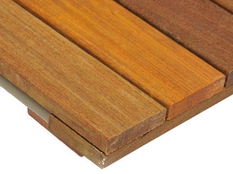 ipe smooth cumaru hardwood deck tiles