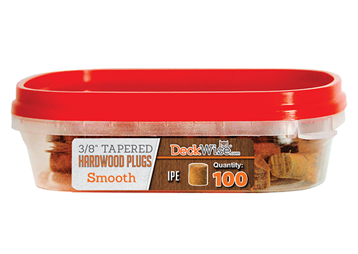 Exotic Hardwood Decking Plugs 100 Count
