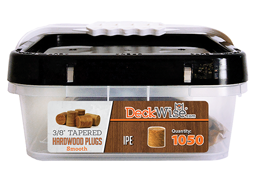 Exotic Hardwood Decking Plugs 1050 Count