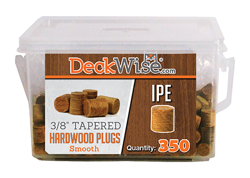 Exotic Hardwood Decking Plugs 350 Count