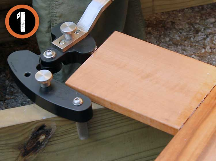 Deck Board Straightener Tool