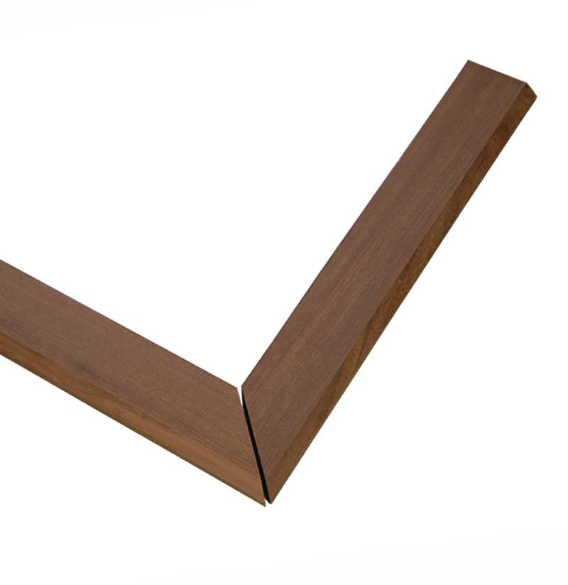 ipe edge trim - corner piece - 20 inches