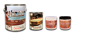 DeckWise® woodcare products