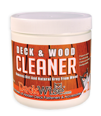deckwise hardwood cleaner