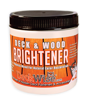 deckwise hardwood brightener