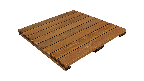 Hardwood Deck Tile