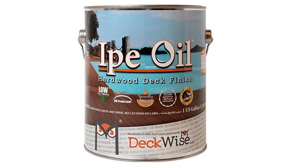 Ipe Oil finish