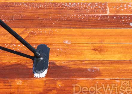 Hardwood Cleaner Application
