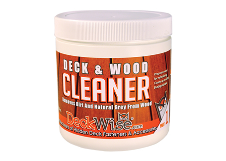 deckwise hardwood deck cleaner part 1