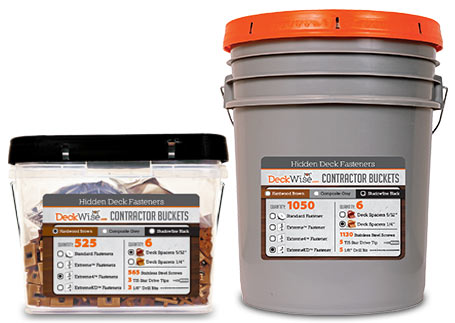 Contractor Buckets from DeckWise