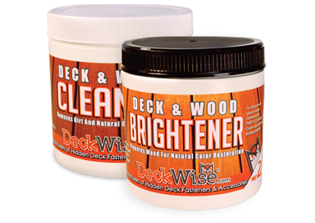 DeckWise® Hardwood Cleaner & Brightener