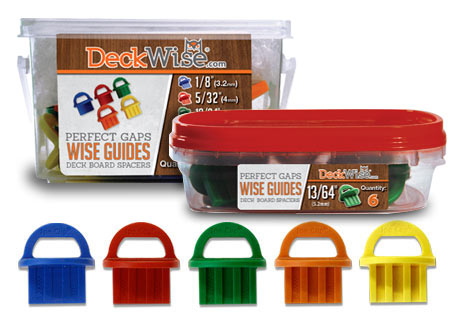 DeckWise® WiseGuides™ Board Gap Spacers
