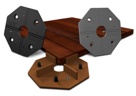 Deck Tile Connectors and Deck Tile Systems