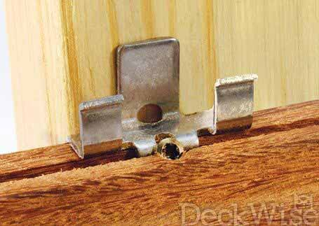 Ipe Hidden Deck Fasteners Decking Products Amp Accessories