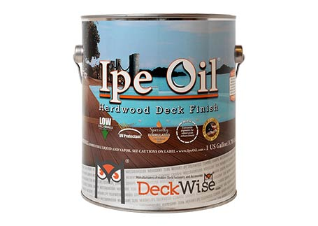 DeckWise® Ipe Oil™ Hardwood Finish