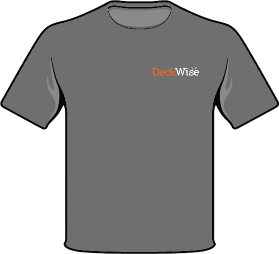 deckwise t-shirt front