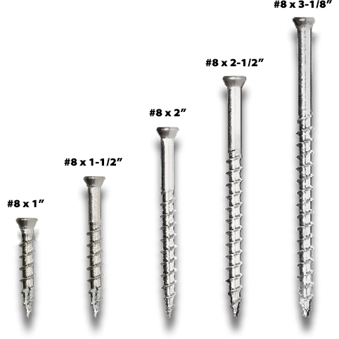 Stainless Steel Screws for decks by DeckWise