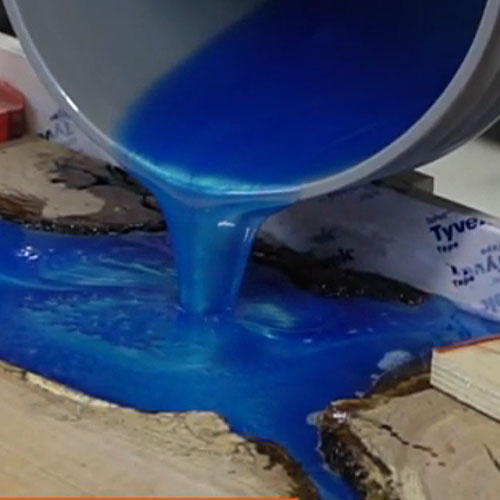 WiseBond Deep Pour Epoxy with Mica Colorant